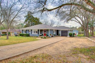 Brenham Single Family Home Option Pending: 1109 W Main