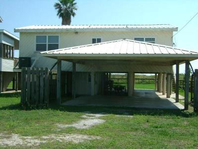 Matagorda Single Family Home For Sale: 480 Beachfront Drive