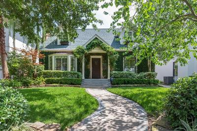 Houston Single Family Home For Sale: 2431 Albans Road