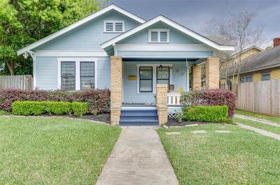 Galveston County, Harris County Single Family Home For Sale: 1139 Peddie Street Street