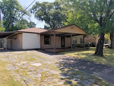 Channelview Single Family Home For Sale: 14903 Gloster Drive