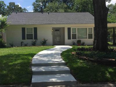 Houston Single Family Home For Sale: 1709 Gardenia Drive