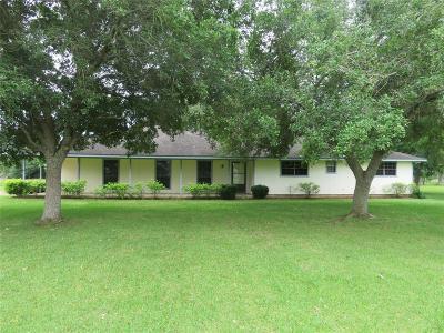 Rosenberg Single Family Home For Sale: 8113 Kirk Road
