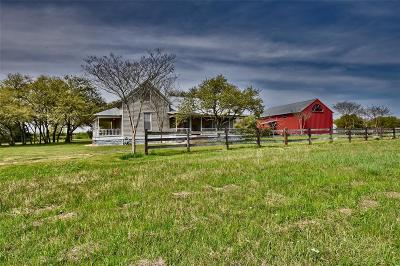 Fayette County Farm & Ranch For Sale: 2710 Mayer Cemetary Road