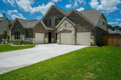 Kingwood Single Family Home For Sale: 5831 Vineyard Creek Lane
