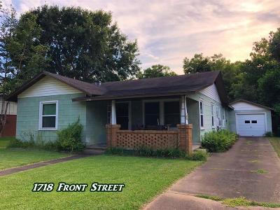 Colorado County Single Family Home Pending: 1718 Front Street