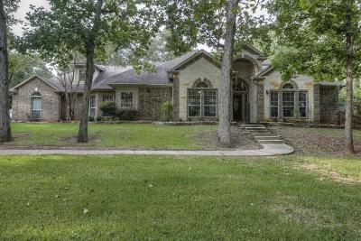 Montgomery Single Family Home For Sale: 8917 Forest Lake Drive