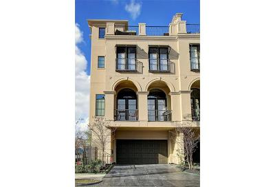 Houston Condo/Townhouse For Sale: 4220 Lillian Street