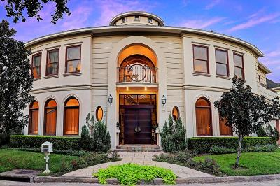 Houston Single Family Home For Sale: 1055 Bayou Island Drive