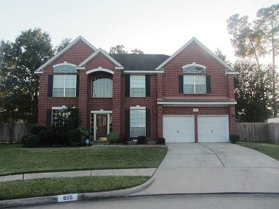 Spring Single Family Home For Sale: 815 Flanners Court
