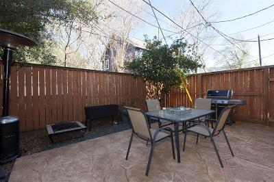 Houston Single Family Home For Sale: 223 W 26th Street #D