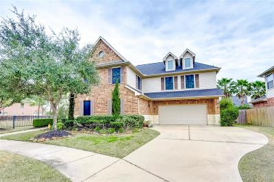 Katy TX Single Family Home For Sale: $605,000