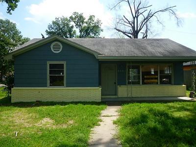 Houston Single Family Home For Sale: 8558 Carlisle Street