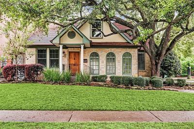 Houston Single Family Home For Sale: 2102 Dryden Road