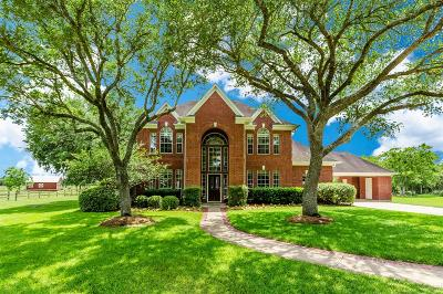 Fort Bend County Country Home/Acreage For Sale: 4730 Gainsborough Drive