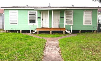 Galveston TX Multi Family Home For Sale: $120,000