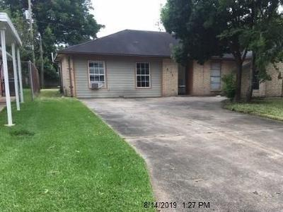 Texas City Single Family Home For Sale: 7219 Meadowlark Lane