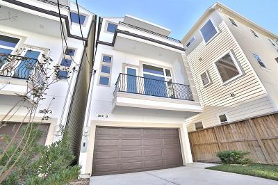 Houston Single Family Home For Sale: 5631 Kiam Street #B