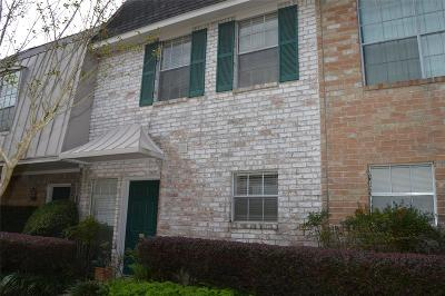 Houston Condo/Townhouse For Sale: 2228 Piney Point Rd #104