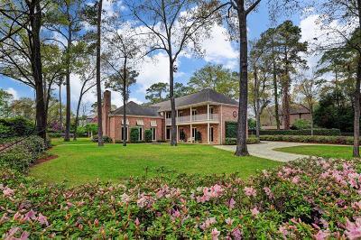 Houston Single Family Home For Sale: 58 E Broad Oaks Drive