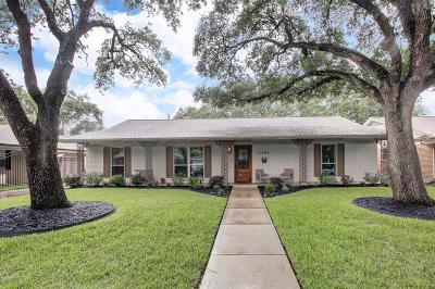 Houston Single Family Home For Sale: 5406 Yarwell Drive
