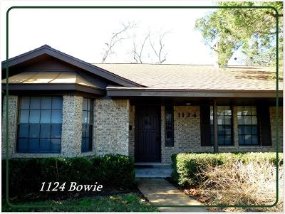 Columbus Single Family Home For Sale: 1124 Bowie Street