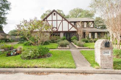 Pearland Single Family Home For Sale: 2302 Green Tee Drive