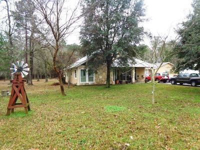 Conroe Farm & Ranch For Sale: 14144 Horseshoe Bend