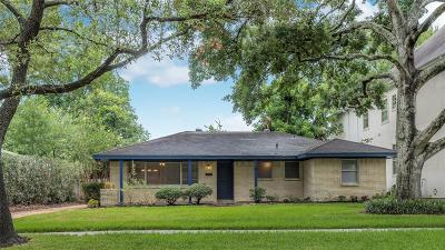 Houston TX Single Family Home For Sale: $425,000