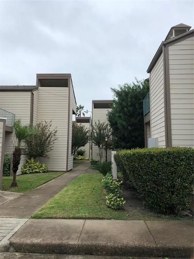 Galveston Condo/Townhouse For Sale: 7051 N Holiday Drive
