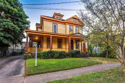 Houston Single Family Home For Sale: 215 Hawthorne Street