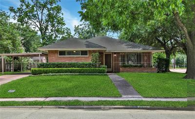 Houston Single Family Home For Sale: 5421 Libbey Lane