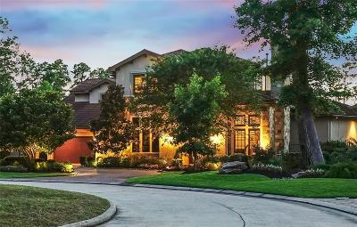 The Woodlands TX Single Family Home For Sale: $1,299,000