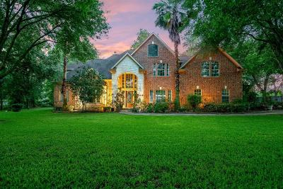 Tomball Single Family Home For Sale: 14711 Brown Road