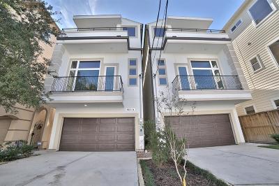 Houston Single Family Home For Sale: 5631 Kiam Street #A