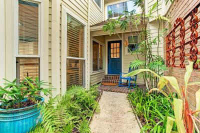 Houston Condo/Townhouse For Sale: 627 E 12th Street #A