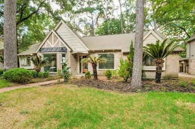 Houston Single Family Home For Sale: 738 Bison Drive