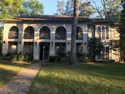 Houston Single Family Home For Sale: 5903 Green Springs Drive
