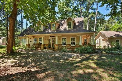 Tomball Single Family Home For Sale: 22831 Rosewood Trail