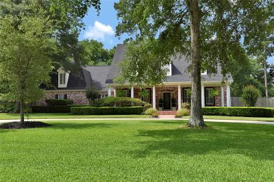 Tomball Single Family Home For Sale: 13315 Lost Creek Road