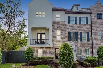 Houston Condo/Townhouse For Sale: 2043 Fannin Station N