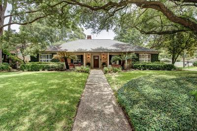 Houston Single Family Home For Sale: 10102 Chevy Chase Drive
