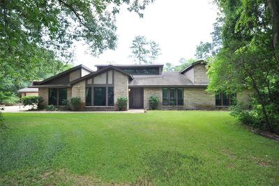Kingwood Single Family Home For Sale: 1200 Buttercup Lane