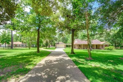Magnolia Single Family Home For Sale: 8711 Deer Lodge Road