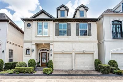 Houston Condo/Townhouse For Sale: 36 Milan Estates