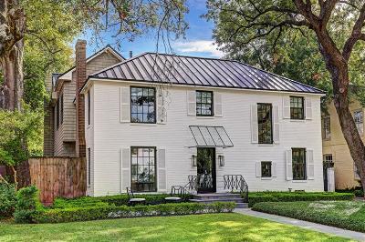Houston Single Family Home For Sale: 3043 Locke Lane