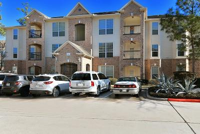 The Woodlands Condo/Townhouse For Sale: 6607 Lake Woodlands Drive #422