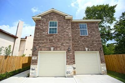 Houston Single Family Home For Sale: 4915 Market Street