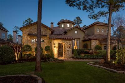 The Woodlands Single Family Home For Sale: 6 Player Green Place