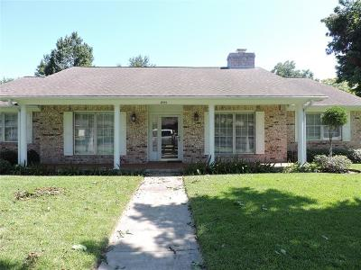 Texas City Single Family Home For Sale: 8515 Peachtree Court